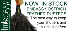 Embassy Ostrich Feather Dusters